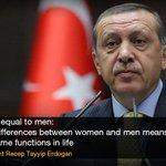 """Our religion (Islam) has defined a position for women (in society): motherhood"" : #Erdogan | http://t.co/ePoBgSjZ7o http://t.co/I1oxnnL5P9"