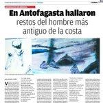 En #Antofagasta hallaron restos del hombre + antiguo de la costa @RuinasHuanchaca recomienda http://t.co/80MpGCN3d6 http://t.co/TwKMJ67obk