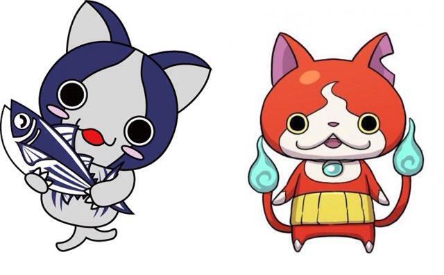 高知県のゆるキャラに「カツオにゃんこ」っていうのがいるんだけど、生まれは先なのにジバニャンとそっくりってだけで批判されててかわいそう。妖怪のせいすぎる。 http://t.co/lGFUgRaD41