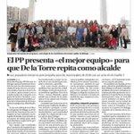 El @PPMalaga presenta al mejor equipo para que @pacodelatorrep sea de nuevo alcalde de @malaga http://t.co/IvfamufmmV