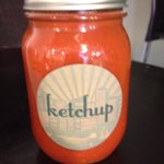Thanks @driftfoodtruck for the most amazing homemade ketchup #BT #internship #yegfood #btedmonton http://t.co/FSieQJFXCp