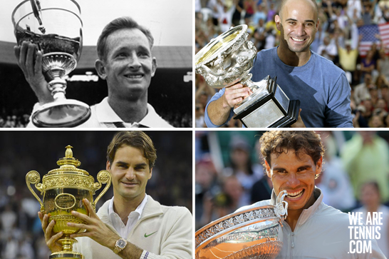 By winning the #DavisCup, #Federer joins the Fantastics who all won both 4 Grand Slam and the Davis Cup. Impressive! http://t.co/wtZFCwUtnq