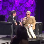 One of a kind CDN Comedian Martin Short interviewing me as Jiminy Glick last night at #NegevDinner -great fun #TOpoli http://t.co/L2ny5CibIP