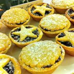 Fresh in store for Christmas! Our fruit mince pies are baked to golden brown perfection! @VandAWaterfront #Christmas http://t.co/ZfGThu1nxz