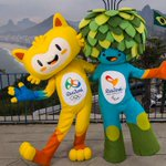 Rio chooses mascots for Olympics, Paralympics; represent animal and plant life in Brazil. http://t.co/CUDFH1lJBI http://t.co/VNeCUgERvp