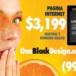 Página de Internet desde $3,199 pesos con hosting y dominio GRATIS. Sólo 20 paquetes. Llama al 998.820.7646 http://t.co/uyZacchtUK