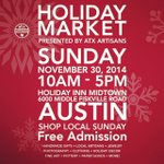 #Austin peeps! Keep your Shop Local pledge this holiday weekend, and come out to our hol... http://t.co/kUZ2Fzd2oS http://t.co/6D69wDeMBZ
