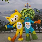 The Rio 2016 Olympic and Paralympic mascots were unveiled Sunday! http://t.co/RlZJ4pkuWM