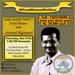 """@SwachhPolitics: #DinnerWithKejriwal 7pm mumbai with #MufflerMan http://t.co/KyJZn8K7Ag"""