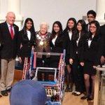 @PeelSchools @RickHansenPDSB  Robotics students meeting with Mississauga City Council to discuss robotics. http://t.co/oZLORE0Ir4