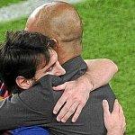 """Guardiola: """"Me haría muy feliz ver a Messi acabar su carrera en el Barça"""" http://t.co/YhtahJLSPC http://t.co/BHk2s8LoiP"""