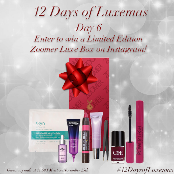 We're giving away a #ZoomerLuxeBox for the #12DaysofLuxemas!  Follow us on @instagram & enter: http://t.co/N7ybbeqQ08 http://t.co/WxeALneKFm