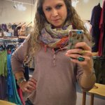 Its the perfect day for a #hemp @Gramicci henley and a cozy Pashmina scarf! #staywarm #Bellingham http://t.co/x3hpm5q18K