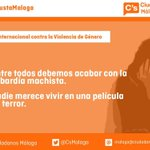 Desde @CsMalaga nos solidarizamos con las víctimas. 25N, Día Internacional contra la violencia de género. http://t.co/vzr93tUSQA