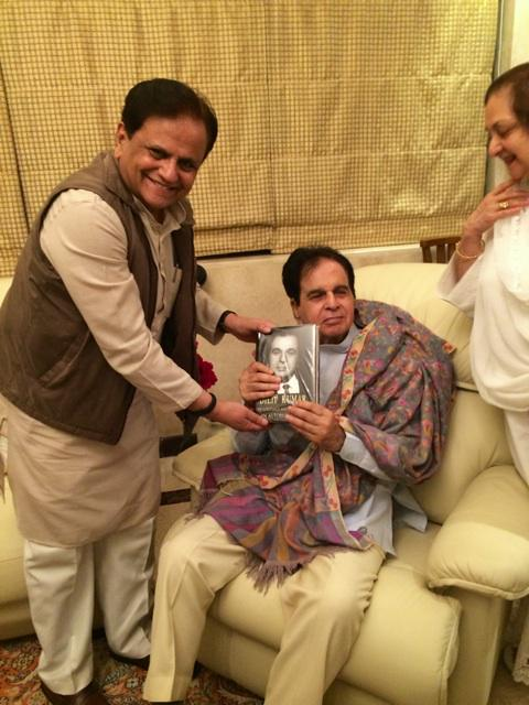 Ufff.@TheDilipKumar is fine. was with him an hour ago. Ahmed Patel came n he presented a copy of his autobiography http://t.co/9wZtZHjyYy