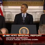 Watch Live: Pres. Obama holds news conference on Hagel's resignation http://t.co/BDqTBcmEQG http://t.co/vx6nGOeP8y
