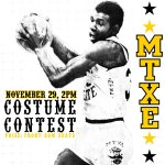 Find those knee-socks; Shocker Maniacs MTXE costume contest    Nov. 29 @ 2PM. http://t.co/h1m7LZiFmz #WATCHUS http://t.co/3EtyyXiMyO