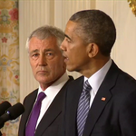 RT @NBCNightlyNews: President Obama: Hagel has agreed to stay on until his successor is confirmed by the Senate http://t.co/NmuVUet89e