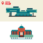Art lovers, can you name these museums? #BeThereZagreb #Croatia #Zagreb http://t.co/caubYZ81iN