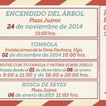 ¡El Gobernador @Paco_Olvera y @Lupita_Romero te invitan al encendido del Árbol #NavidadEnFamilia! ¡6:30 pm #Pachuca! http://t.co/gne0DLApBp