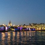 Gloriously crisp & clear evening across the river tonight #Thames #London http://t.co/suiL4nOTUr