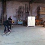 Mucho nivel el de nuestros técnicos de imagen! ???????? @Asmo_design @J_Anton_Barroso #SWBurgos #makingofAO #GSB2014 http://t.co/4ZjxQNBFZT