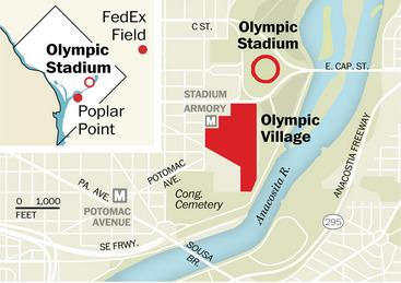 Maps! Here's what Washington would look like as host of the 2024 Olympics via @PostGraphics. http://t.co/cduTTKugzk http://t.co/wJxORoul6o