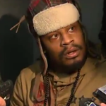 VIDEO: Marshawn Lynch finally talks to the media, but gives mostly 1-word answers http://t.co/DZVqMtkTAI http://t.co/fT3eM1lnss