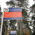 Xmas is coming and Seymours are getting in the spirit of things by sponsoring the St Peters Xmas Fayre !! http://t.co/AW0oInyrXd