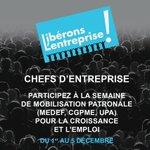 Chefs dentreprise, participez à #liberonslentreprise ! Les détails sur http://t.co/F1iksXzv5y http://t.co/JAWvxi2Xau http://t.co/0AOJVTA9Qt