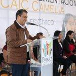 Hoy 800 familias beneficiadas en esta Colonia de @Pachuca_ Ya cuenta con espacio de alimentación #Camelia lo merece! http://t.co/HtgwhTilz3