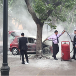 Atacaron cuartel de la PDI con 5 bombas molotov: hay dos funcionarios heridos http://t.co/RcGCaLhD3R http://t.co/DMTSjD2X5m