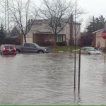 Water is rising quickly in #Kitchener. Stay safe! #onstorm @weathernetwork http://t.co/BhcvRh0FoM