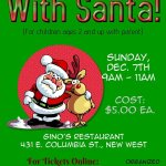 @SappertonBA hosting Pancake Breakfast w/Santa Sun, Dec.7, 9am $5 @ginosrestaurant #NewWest http://t.co/ACGftfAWiq http://t.co/bvmDu6mFrO