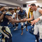 Nothing better than a locker room celebration after a victory. More Photos: http://t.co/YwTuzMdtFP http://t.co/mwvHrSiHSj