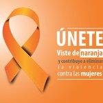 Mañana es el Día Internacional de la Eliminación de la Violencia contra la Mujer Únete al #DíaNaranja @Lupita_Romero http://t.co/bhScn9yVKB
