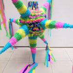 Piñata conmemorativa del 25 Aniversario del #Pacmyc #Morelos #cultura http://t.co/2igG6gvyuv