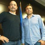 Claudio Barragan y Alfredo ya están en Carranza.Primera imagen d nuevo técnico. @canalamarillo http://t.co/JaBhWky1RA http://t.co/k441GYoJ5w