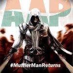 Some of amazing #MufflerMan posters around! #MufflerMan Rocks! http://t.co/JGbroB40Zb