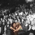 The rest of the world was black and white, but we were in screaming color. @selenagomez http://t.co/UBKRvBv027