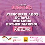 Rockallas no se olviden: @aterciopelados @octaviabo @matambamusic este viernes en la plaza Villarroel ¡GRATIS! http://t.co/J6w6Xypb6I