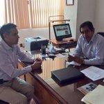 En reunión con el Lic. Francisco Santillan, Secretario de CNC Nal. acordando acciones en apoyo al campo de #Morelos. http://t.co/crL1kTNPF8