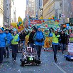 A year ago today, five FIRST teams (& their robots) had the honor of leading the @Macys Thanksgiving Day Parade! #tbt http://t.co/rsGtFp2sw0