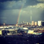 Cant beat this view today! #somewhereovertherainbow http://t.co/erw7AHx9mC