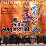 Acompañé a mis amigos de la Sección 8 en el III a Encuentro Cultural Magisterial. Felicidades @villarreal_alex http://t.co/9rckhyRCyc