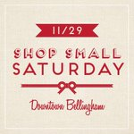Hey #Bellingham, #ShopSmallSaturday is almost here! http://t.co/PyNe1bZ7Ht
