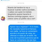El jugador de @FuerzaMonarca Martín Alaniz,  me acaba de amenazar por una crítica que le hice por Facebook. http://t.co/LiK9Ybscmv