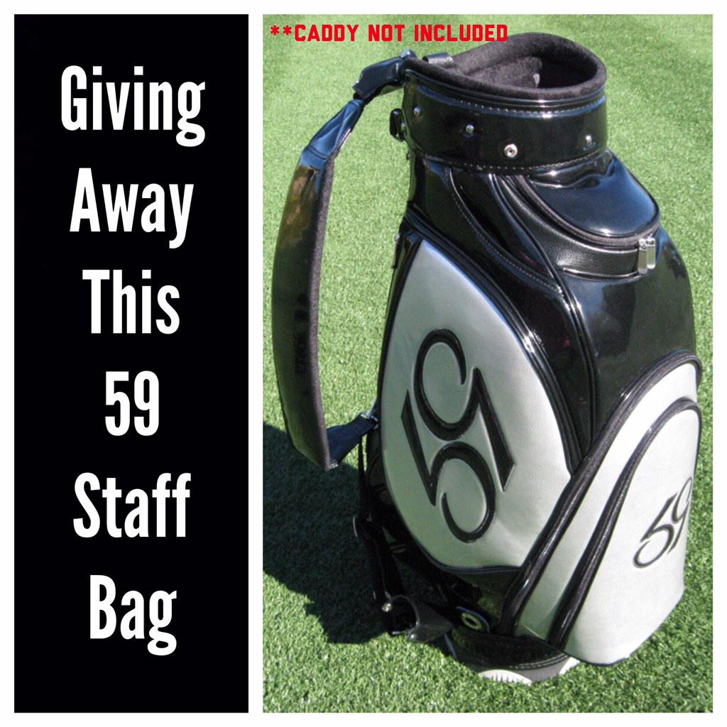 Contest #8 - 59 Staff Bag! ReTweet to enter / **Must Follow to be eligible to win. #59ContestMonth http://t.co/jxEw0dFYRS