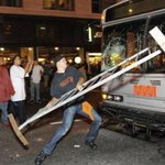 To put upcoming events in #Ferguson in context: This is what San Francisco looked like after recent Giants victory http://t.co/0zAjZQ0xSO
