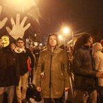 Macklemore is marching in Seattle. #Ferguson http://t.co/1dmnjYcCgd